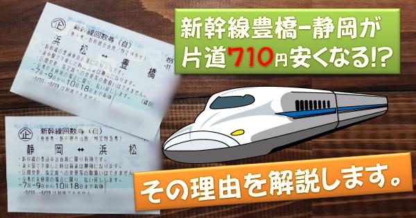 豊橋金券ショップフリーチケット |新幹線豊橋‐静岡が安い